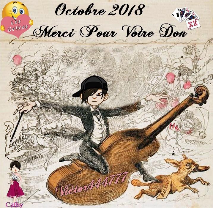 TROPHEES DONATEURS DU MOIS D'OCTOBRE 2018 Victor13