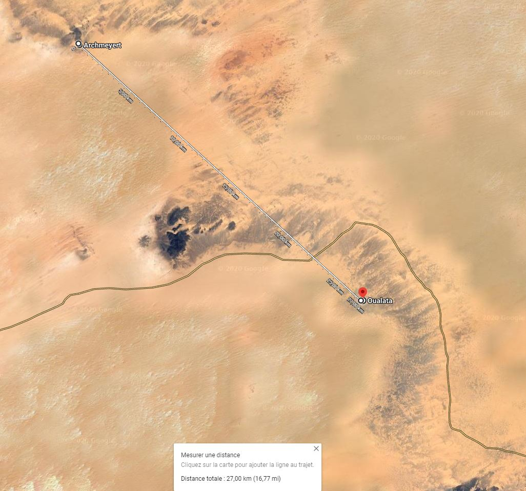 Points de repère de l'aviation au Sahara Archme10