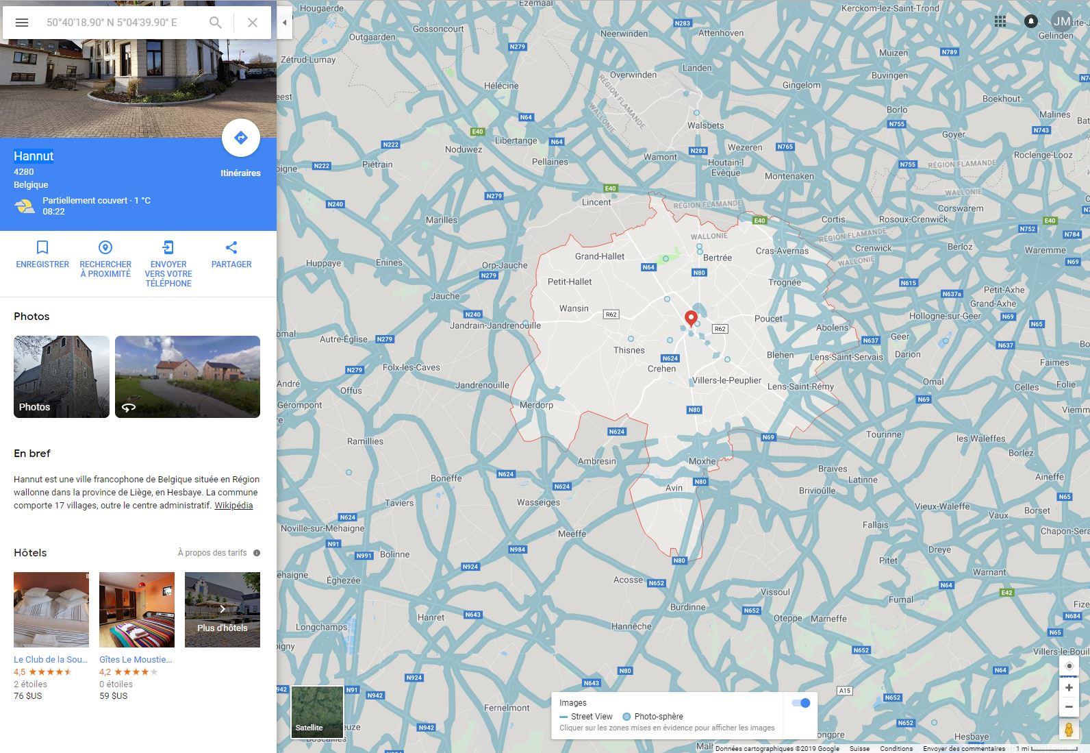 Des morceaux de Belgique rayés de la carte (...de Street View) Hannut11