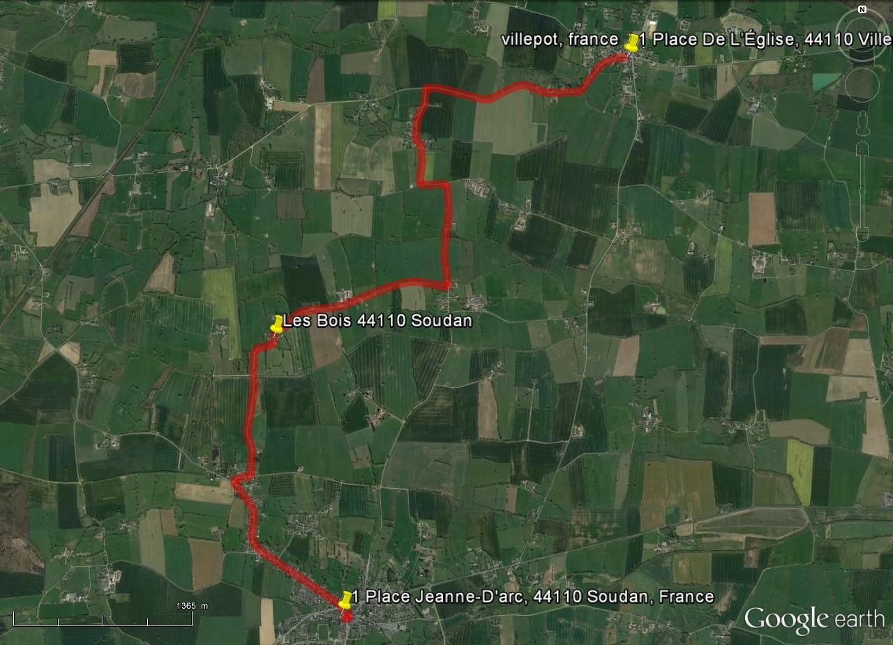 [résolu]Tracer un itinéraire, le sauver en KMZ [problème technique Google Earth] Itinai11