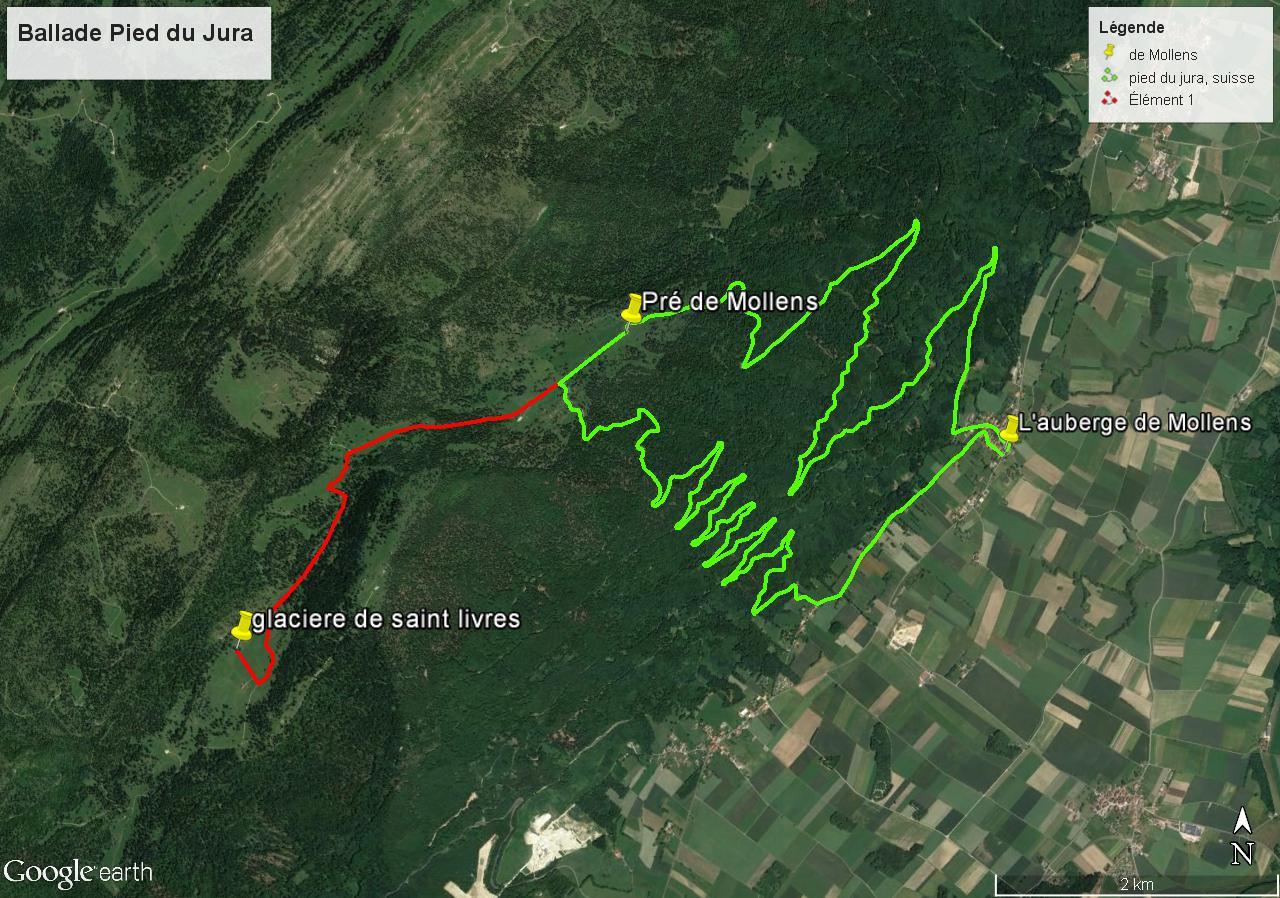 [résolu]Tracer un itinéraire, le sauver en KMZ [problème technique Google Earth] Pied-d10