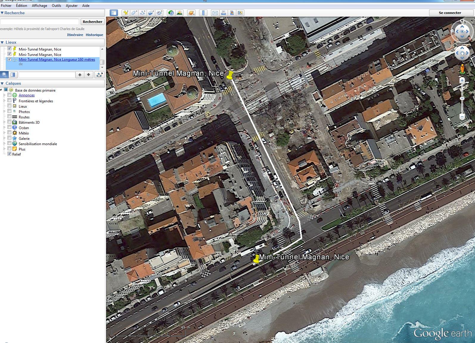 [résolu] Comment éditer un trajet dans Google Earth ? Tunnel10