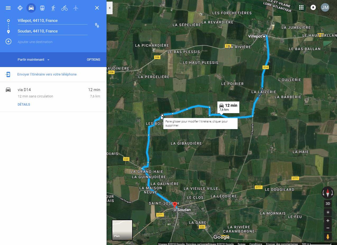 [résolu]Tracer un itinéraire, le sauver en KMZ [problème technique Google Earth] Villep11