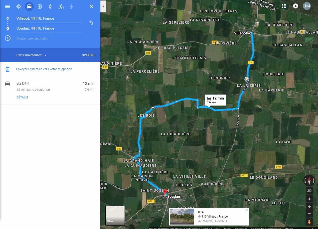 [résolu]Tracer un itinéraire, le sauver en KMZ [problème technique Google Earth] Villep12
