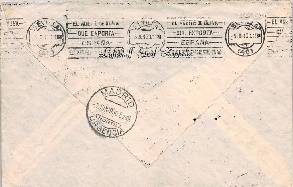 Südamerikafahrt 1930, Post nach Sevilla - Seite 3 Orlean10