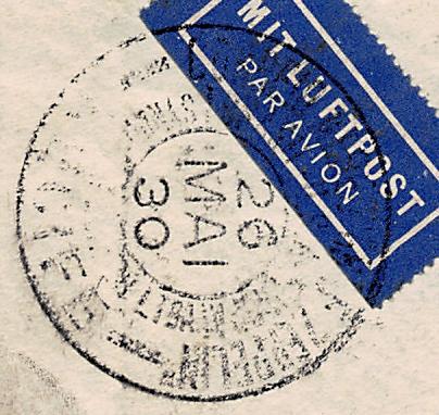 Südamerikafahrt 1930, Post nach Sevilla - Seite 3 Recife10