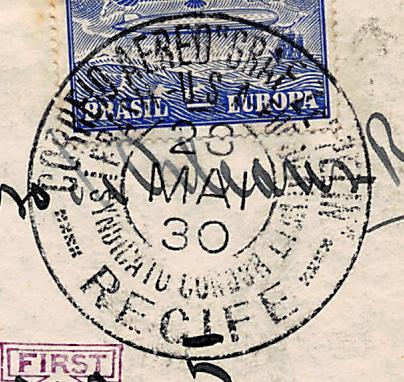 Südamerikafahrt 1930, Post nach Sevilla - Seite 3 Recife11