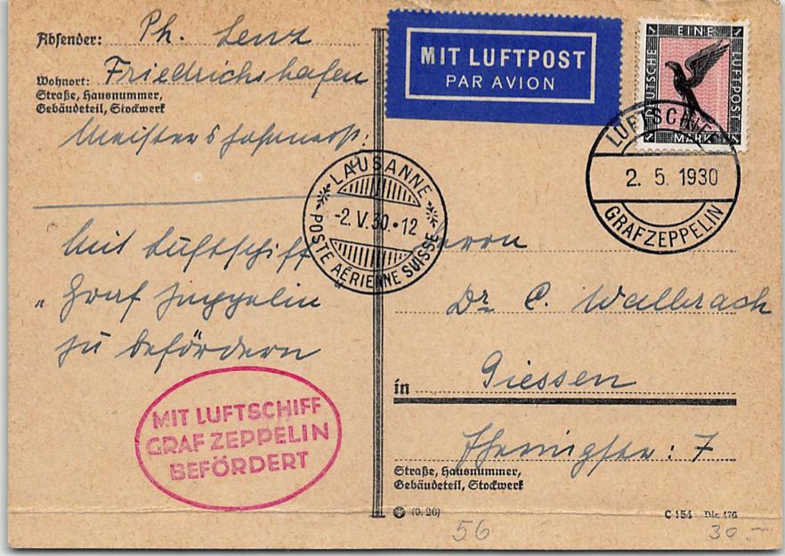 Zeppelinpost der Besatzung - Seite 2 Schwei11