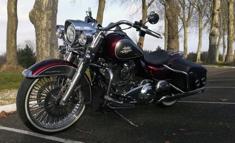 petits changements sur mon Road king! - Page 6 Sacoch13