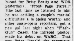 Casey, Crime Photographer 1943-038