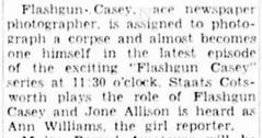 Casey, Crime Photographer 1943-040