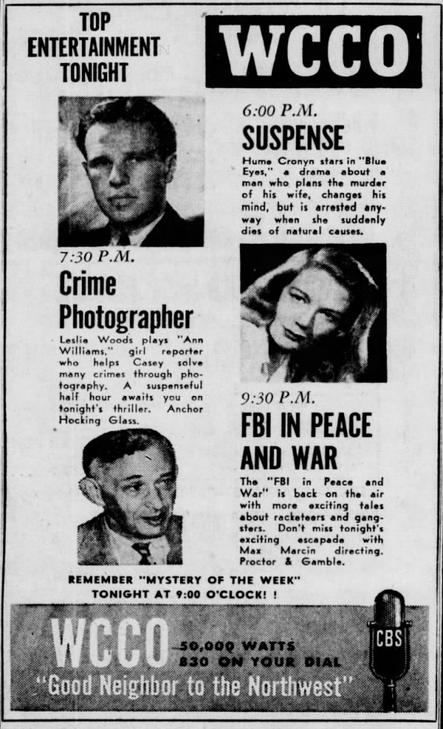 Casey, Crime Photographer 1946-039