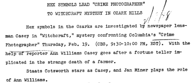 Casey, Crime Photographer - Page 5 1948-145