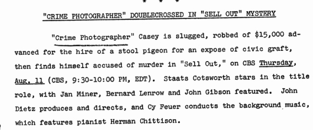 Casey, Crime Photographer - Page 6 1949-165