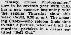 Casey, Crime Photographer - Page 6 1949-166