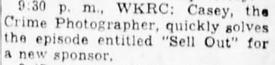Casey, Crime Photographer - Page 6 1949-167