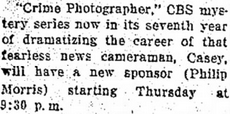 Casey, Crime Photographer - Page 6 1949-168