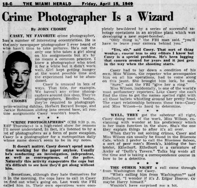 Casey, Crime Photographer - Page 6 1949-185