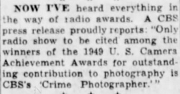 Casey, Crime Photographer - Page 6 1949-191