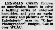 Casey, Crime Photographer - Page 6 1949-193