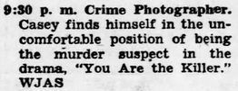 Casey, Crime Photographer - Page 8 1949-199