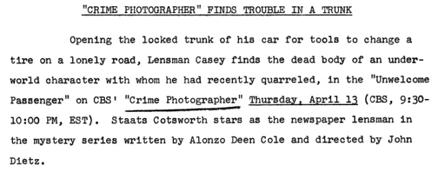 Casey, Crime Photographer - Page 7 1950-140