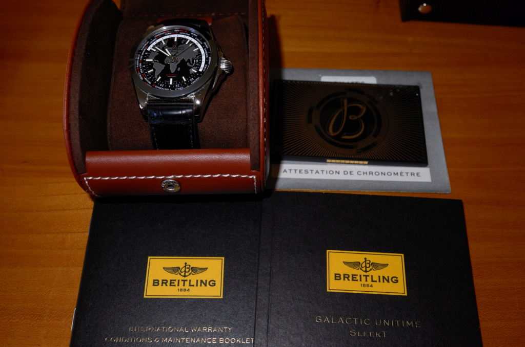 Breitling - [Vendue] Breitling Galactic Unitime SleekT L1002338
