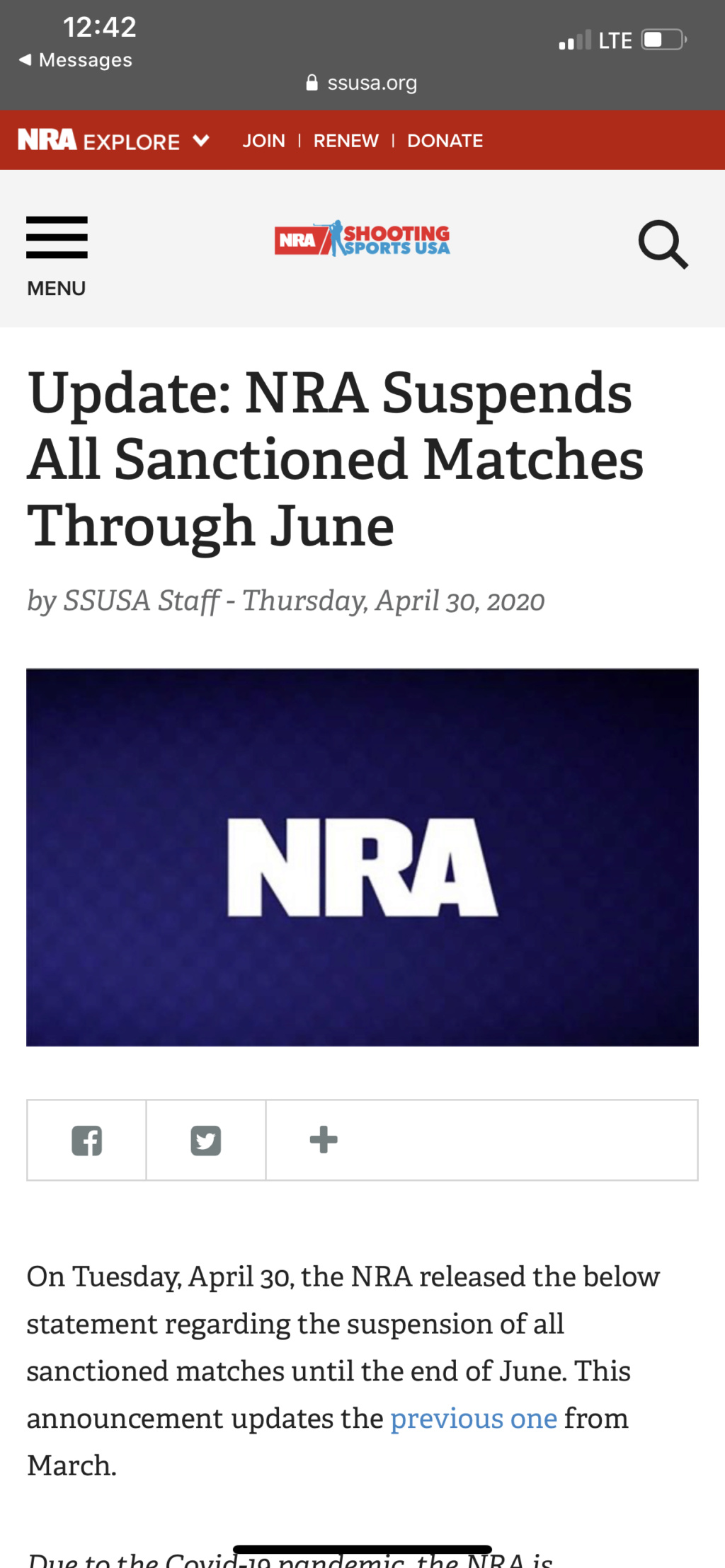 NRA cancels ALL Sanctioned matches in May and June 60913b10