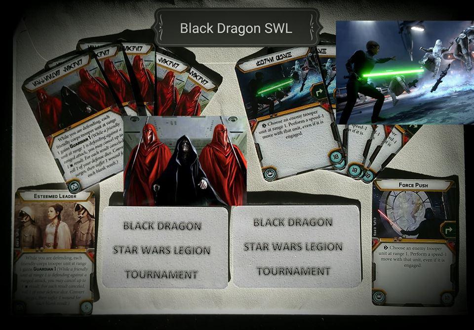 [LEGION] BLACK DRAGON STAR WARS LEGION TOURNAMENT 35415610