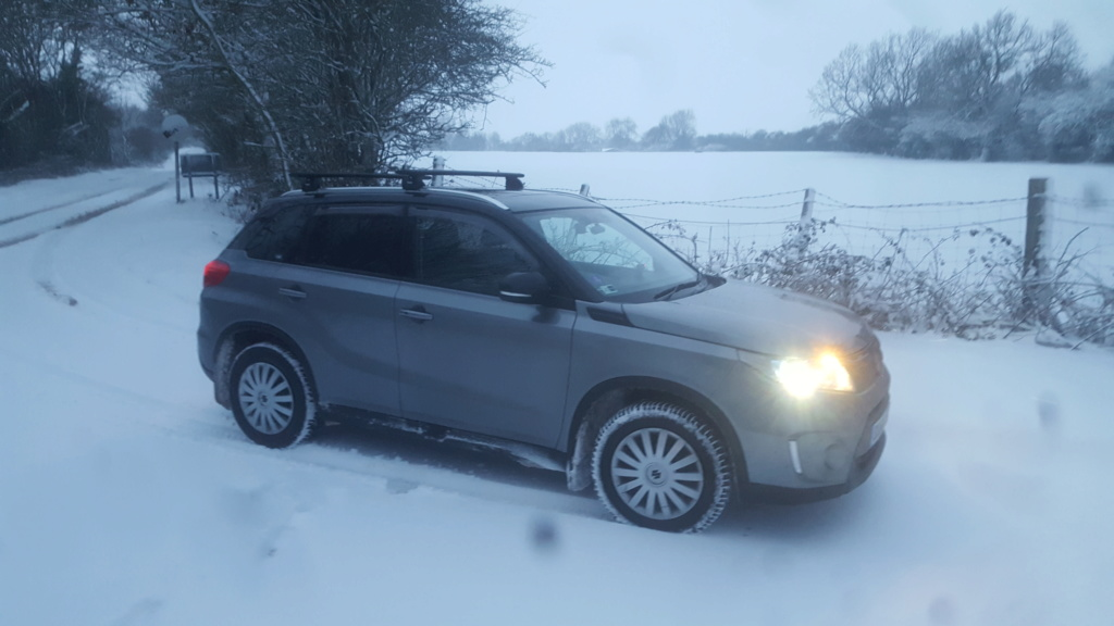 SNOW PICTURES........SHOW US YOUR VITARA! 20190210