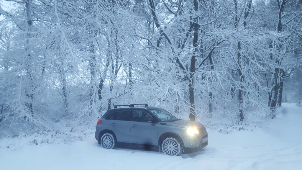 SNOW PICTURES........SHOW US YOUR VITARA! 20190211