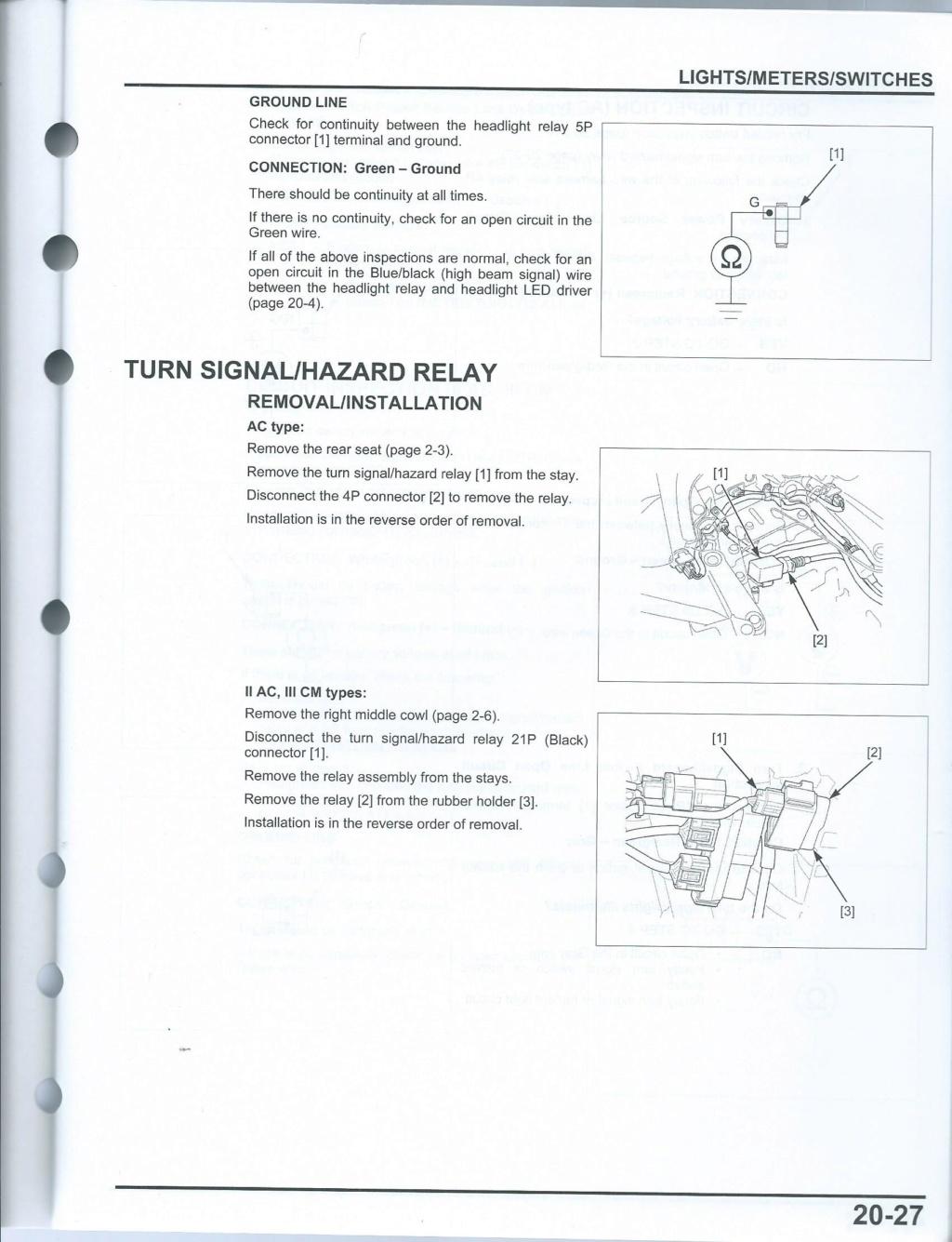 Recherche de pages manuel d'atelier 20-2710