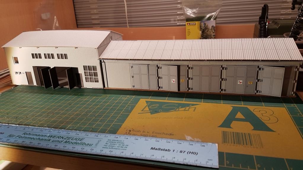 Bau von einem Wechseldio (DDR Landwirtschaft) D412