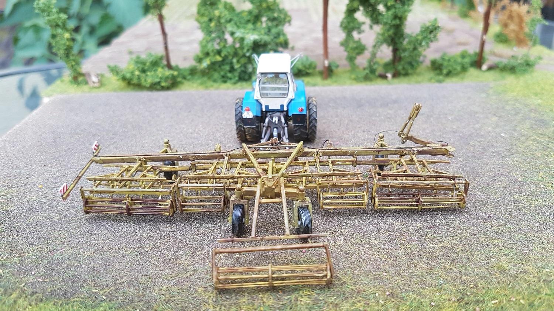 Kopplungswagen T 890 mit Grubbereinheiten K911