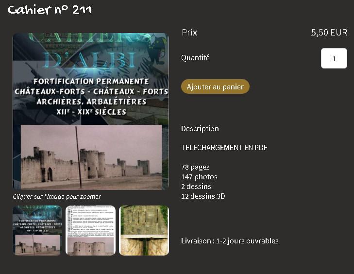 No 211 sur les archières, arbalétières 2021-067