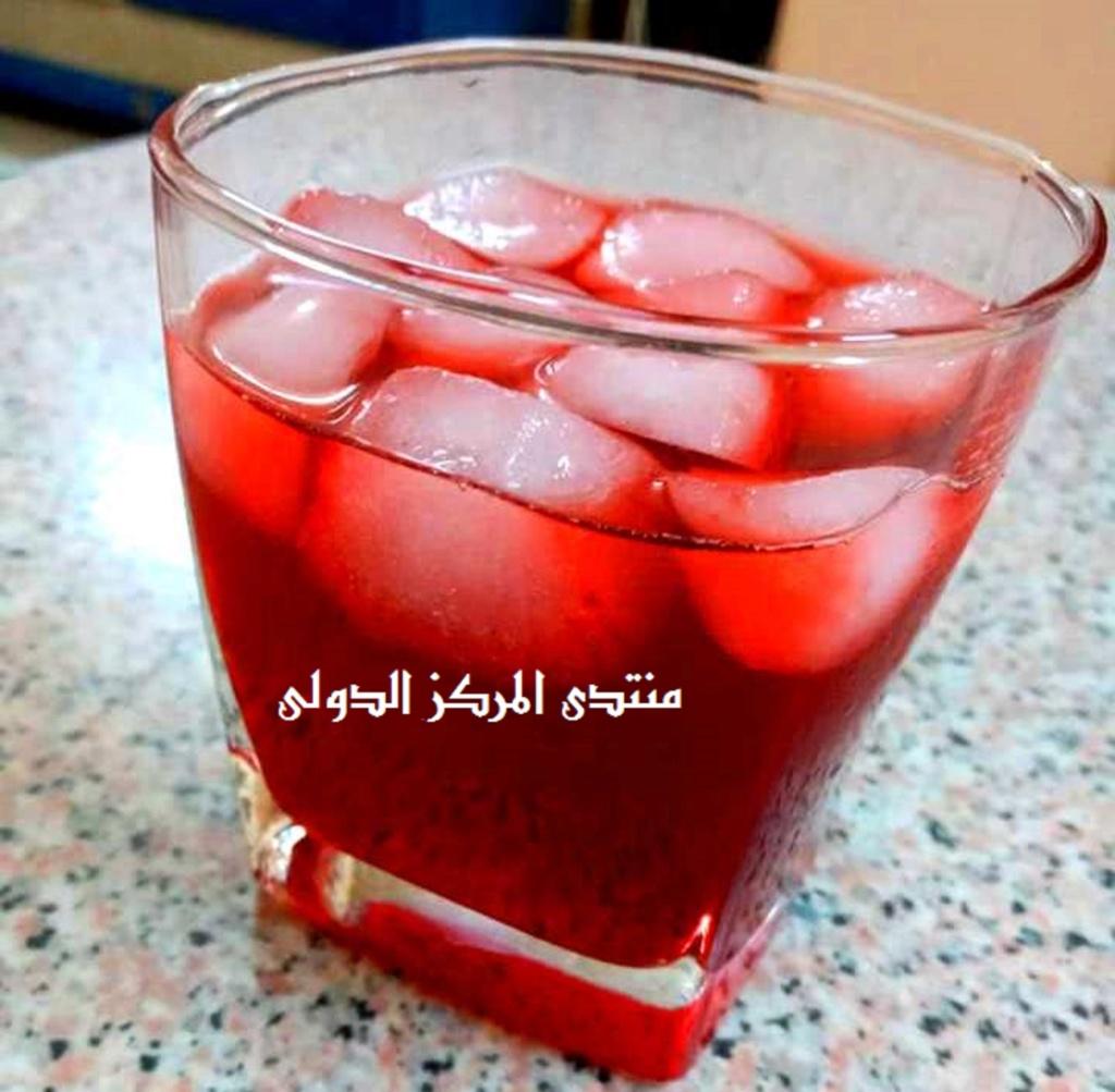 طريقة عمل عصير الورد الطبيعي O-aic-10