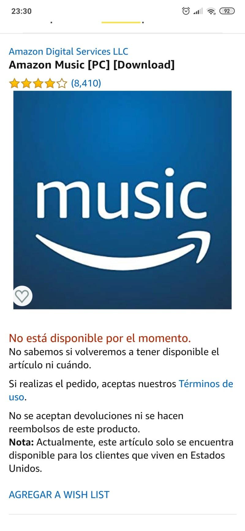 Amazon Music ofrecerá modalidad CD (44/16) y HD (192/24) 20190925