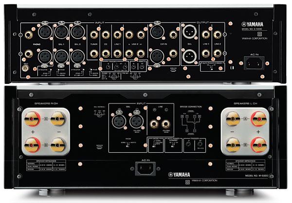 Amplificador de potencia / preamplificador Yamaha C-5000 / M-5000 920yam11