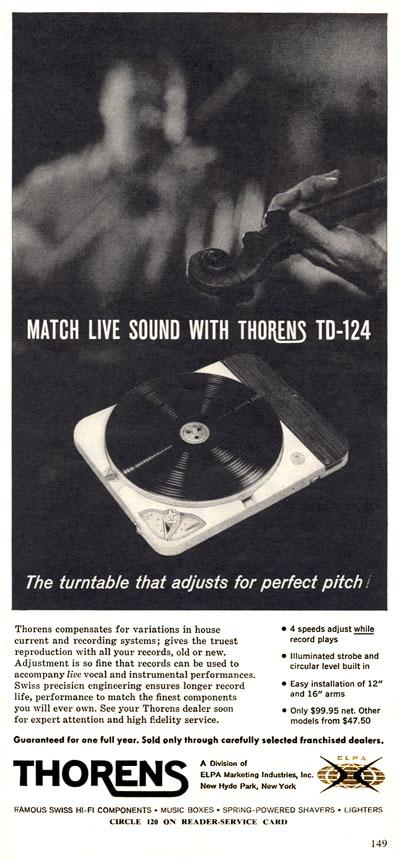 Nuevo Thorens TD-124 Direct Drive Highfi10