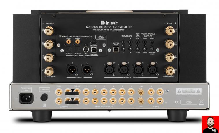 McIntosh anuncia el amplificador integrado MA12000 350wpc Mcinto12