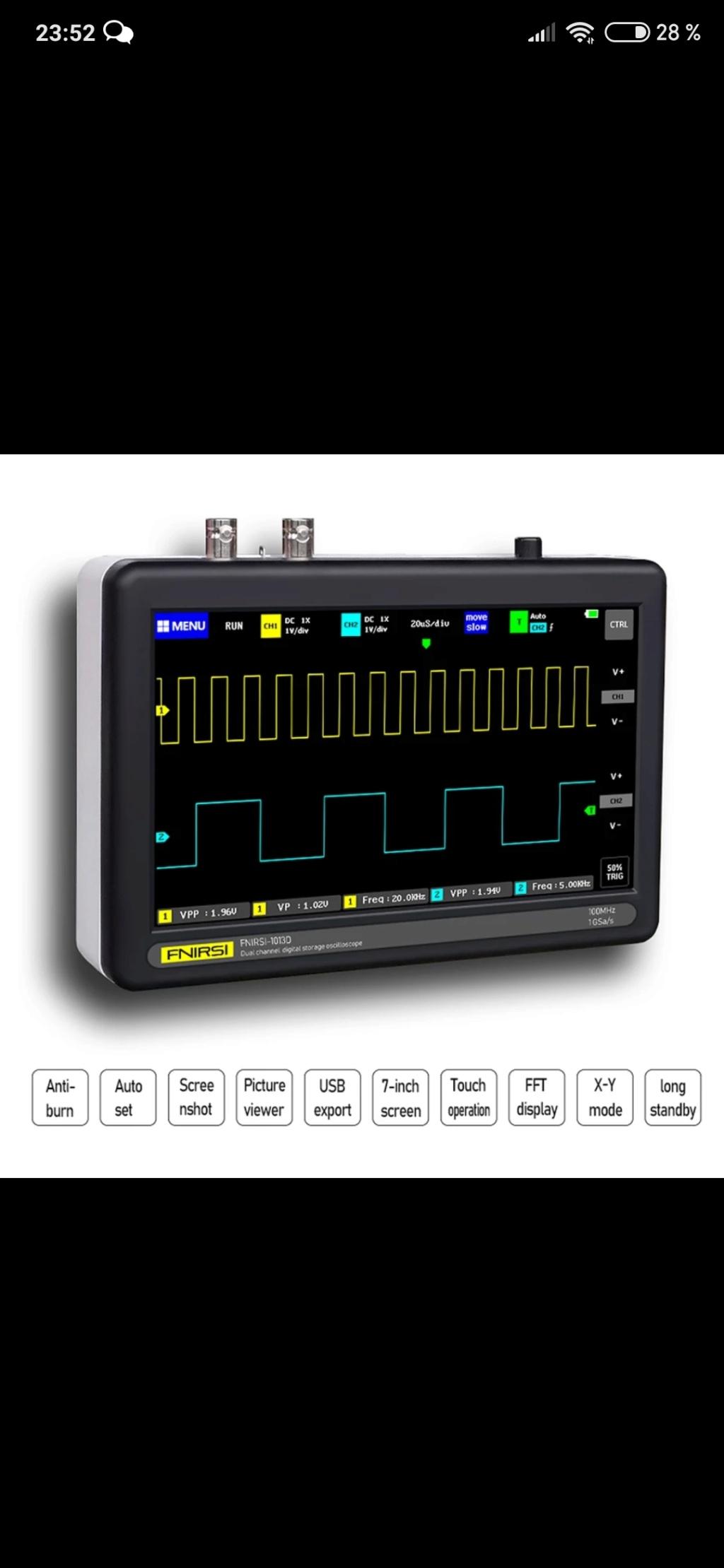 osciloscopios Screen72