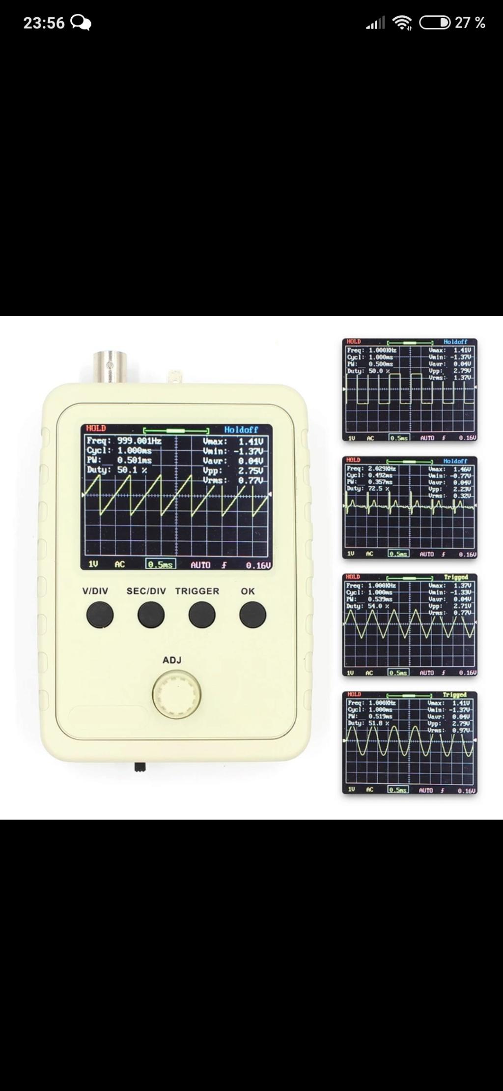 osciloscopios Screen73