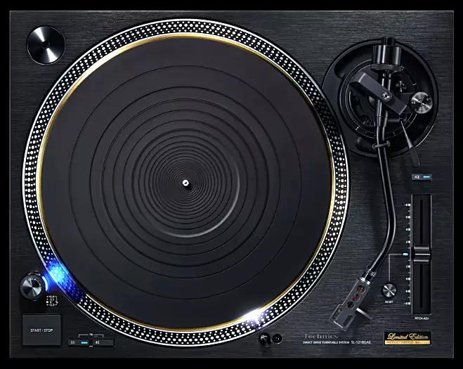 Tocadiscos de accionamiento directo Technics SL-1210GAE Techni11