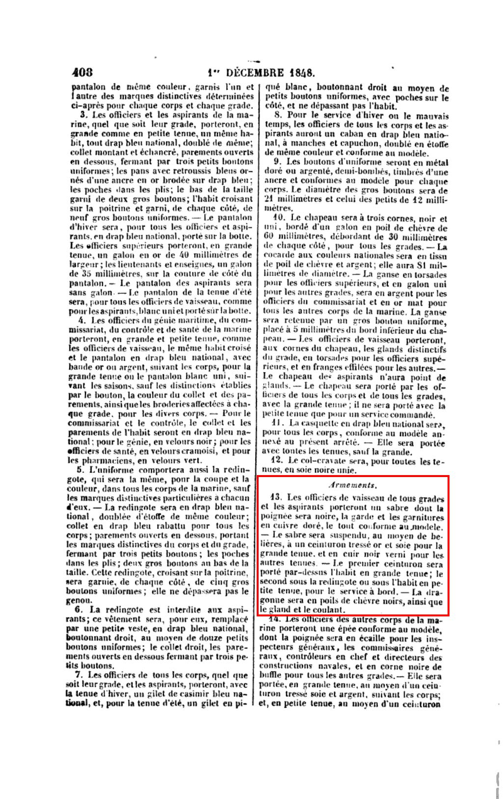 LES ÉVOLUTIONS DU SABRE D'OFFICIER DE MARINE FRANÇAIS DE 1837 À NOS JOURS - Page 4 01121811