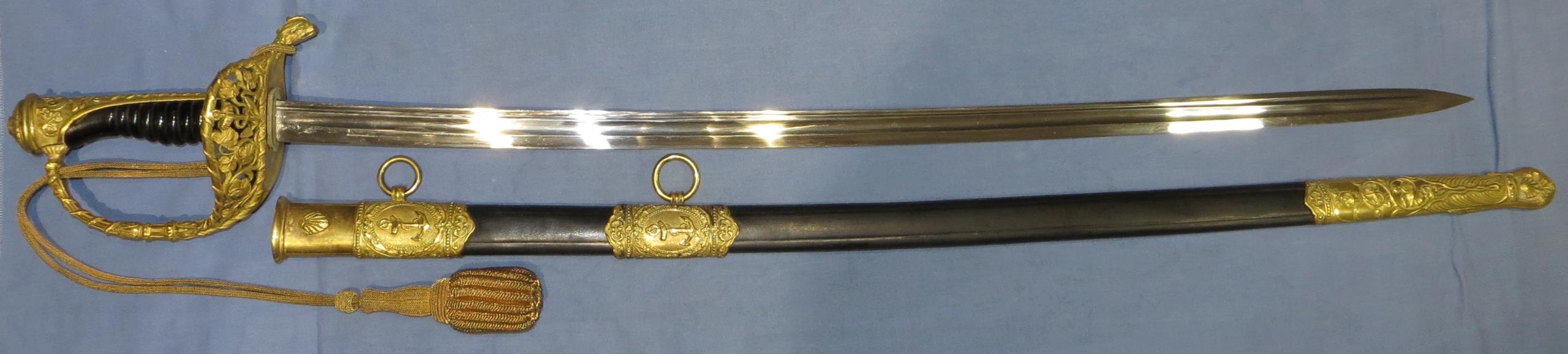sabre japonais marine 123