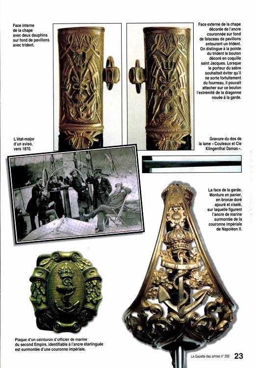 Sabres d'officier de marine : 1837, 1853, 1870, 1891, 1957 - Page 5 17085-10