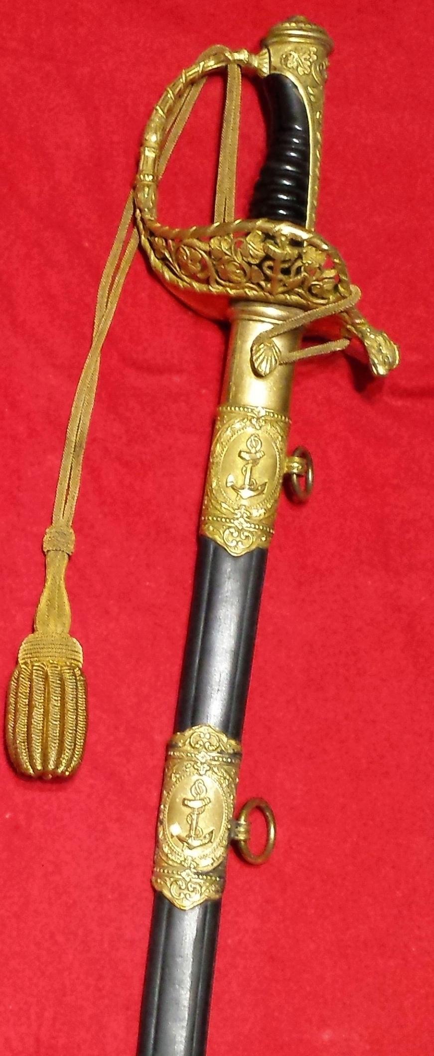 Sabres Marine et épées. 20190717