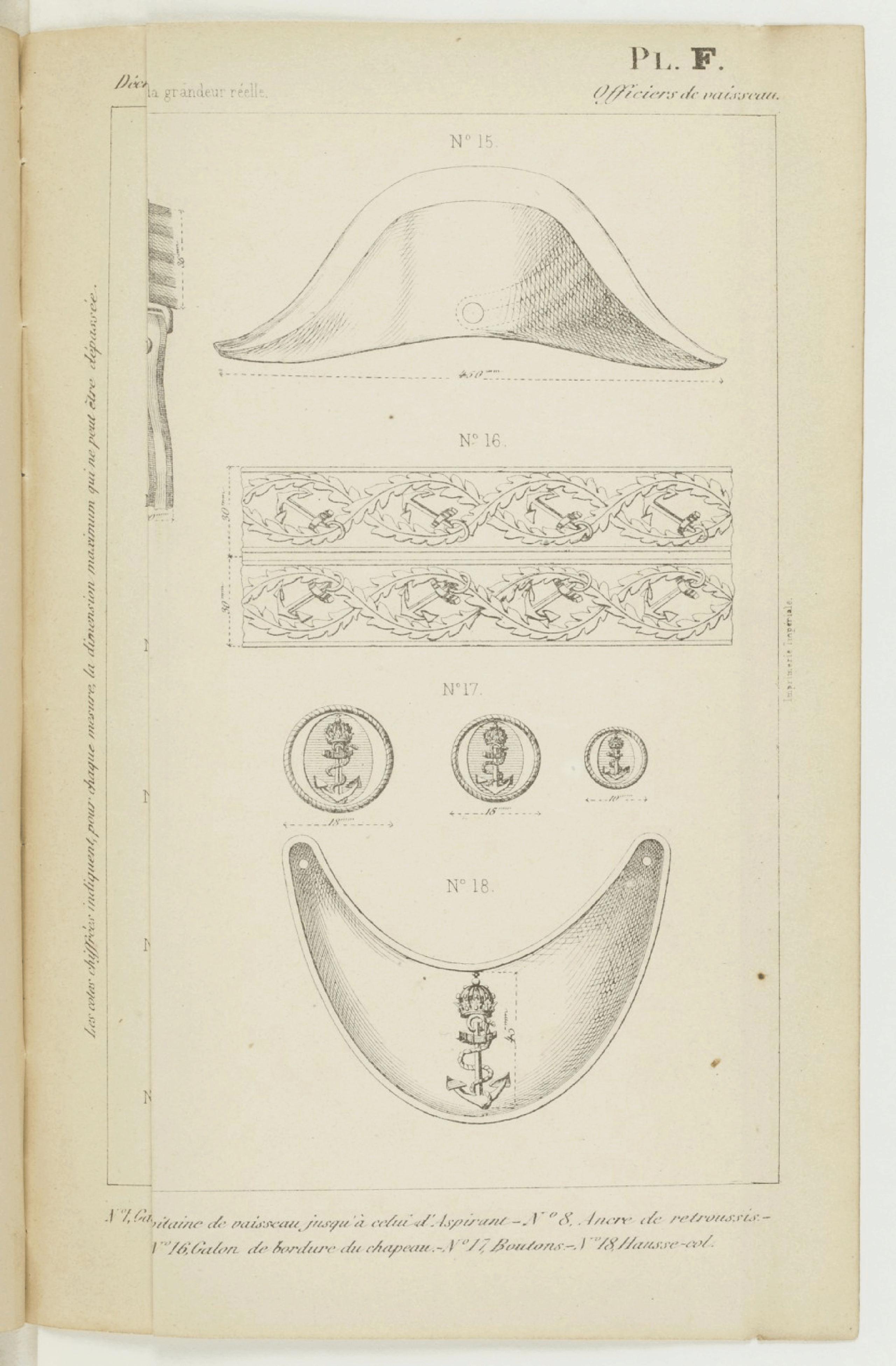 LES ÉVOLUTIONS DU SABRE D'OFFICIER DE MARINE FRANÇAIS DE 1837 À NOS JOURS - Page 4 Dzocre10