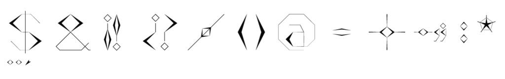 Numero y caracteres Cara11