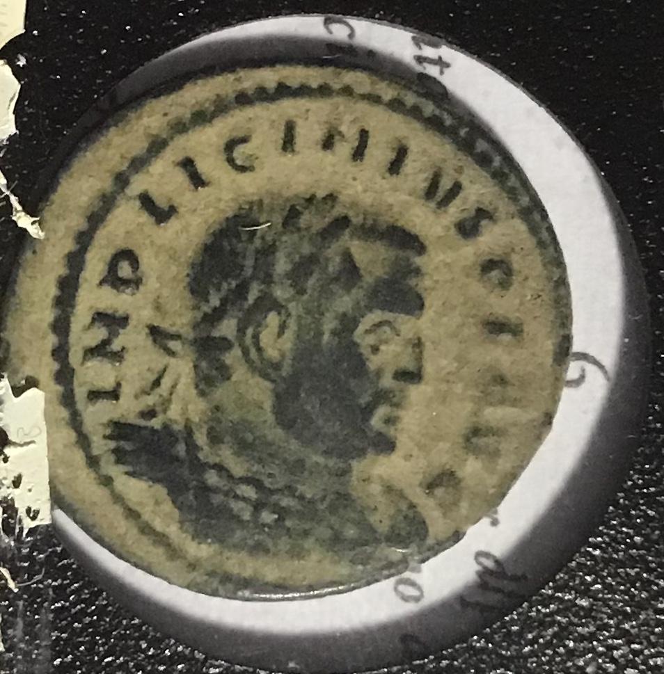 Nummus de Licinio I. SOLI INV-I-CTO COMITI. Sol estante a izq. Roma. 49bbb510